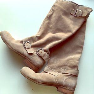 Dolce Vita Beige Tall Boots